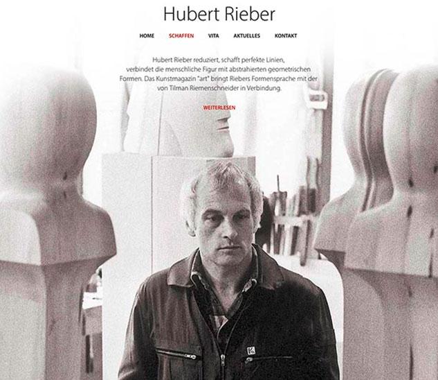 Menschenspuren - Die Kunst von Hubert Rieber